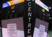 The CN Centre's video display system has been used as a vital selling point to attract certain events to the facility. In November of 2009, the City of Prince George and the CN Centre hosted the 'Road to the Roar' curling event. This event had approximately 25, 000 tickets sold and had an estimated $3,000,000 impact to the local Prince George economy.