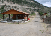 A picnic shelter is host to many events held at X'Wisten Experiences